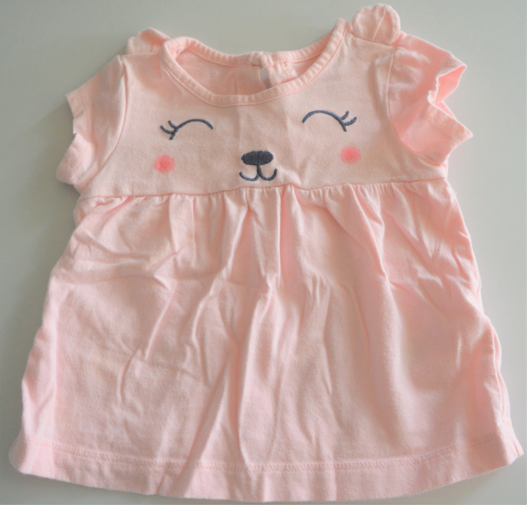 Carter's Pink Cat T-shirt