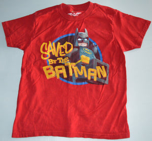 Lego Red Saved by the Batman T-shirt