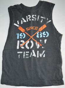 The Children's Place Grey Varsity Team Tank Top