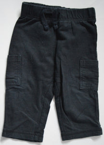 Jumping Beans Black Cargo Sweat Pants