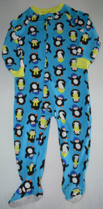 Carter's Blue with Penguins Fleece Sleeper