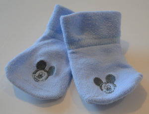 Blue Mickey Mouse Socks