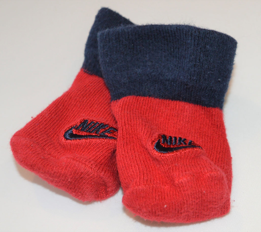 Nike Red and Blue Socks