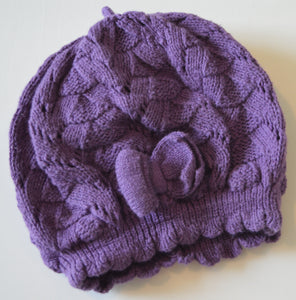 H&M Purple Knit Hat