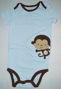 Carter's Blue with Monkey Onesie