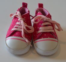 Load image into Gallery viewer, Pink with Light Pink Polka Dots Shoes