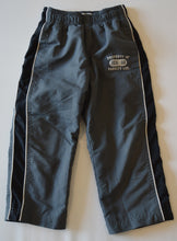 Load image into Gallery viewer, Osh Kosh Grey with White and Navy Racing Stripes Athletic Pants