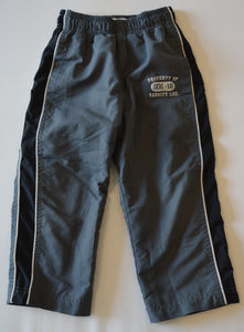 Osh Kosh Grey with White and Navy Racing Stripes Athletic Pants