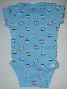 Onesies Blue with Monkeys Onesie