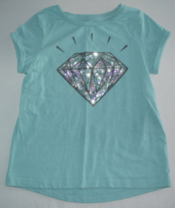 George Blue with Sparkly Diamond T-shirt