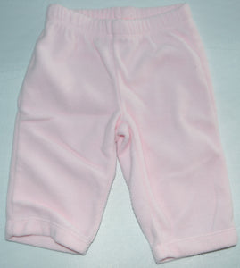 Carter's Pink Fleece Pants