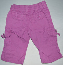 Load image into Gallery viewer, Osh Kosh Purple with Butterfly Cargo Pants