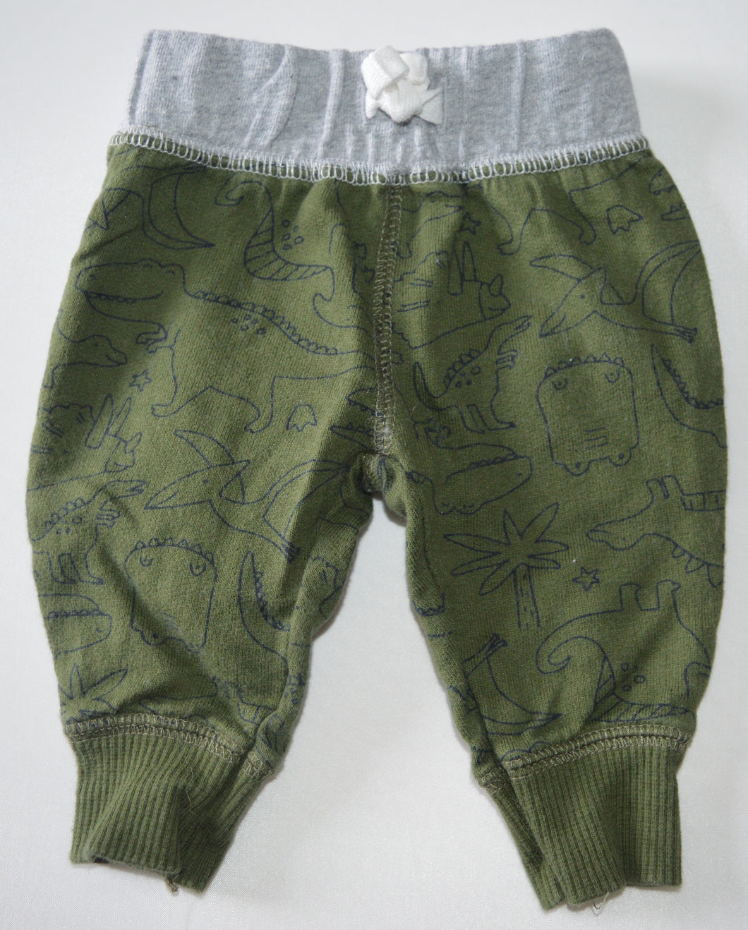 Carter's Green Dinosaur Pants