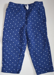 Carter's Blue with White Polka Dots Pants