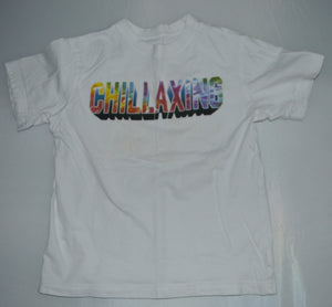 The Children's Place White Chillaxing T-shirt