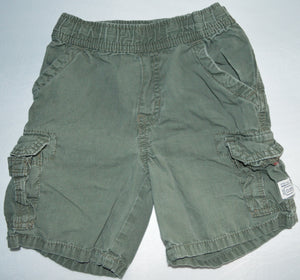 The Children's Place Green Khaki Cargo Shorts