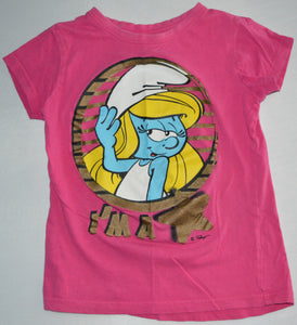 The Smurfs Pink Smurfette I'm a Star T-shirt
