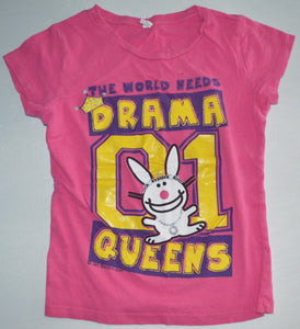 Alstyle Pink The World Needs Drama Queens T-shirt