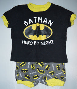 DC Comics Batman Hero by Night Two-piece Pajamas