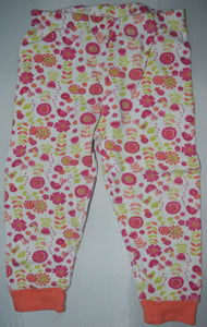 The Children's Place Pink Flowers Pajama Pants