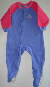 Gerber Pink and Purple with Cupcake Fleece Sleeper