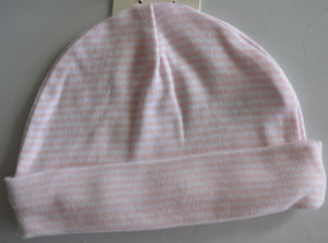 NWT George White with Hearts, Plain Pink and, Pink and White Striped Hats