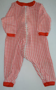 George Pink and White Checkered Sleeper