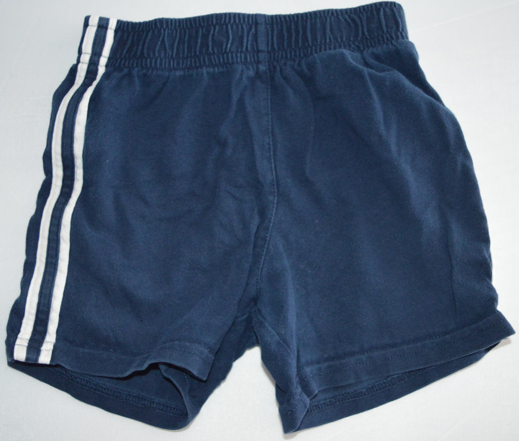 The Children's Place Navy with White Racing Stripe Shorts