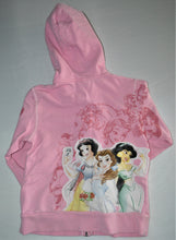 Load image into Gallery viewer, Disney Studio Collection Pink Princess Zip-up Hoodie