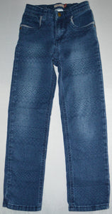 Point Zero Jeans with Aztec Print