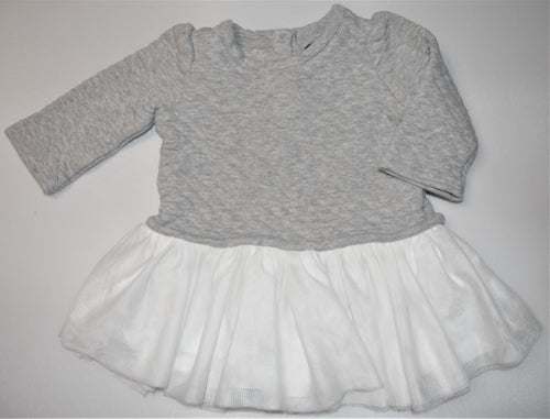 Baby Gap Grey Sweater with Tulle Skirt