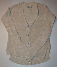 Load image into Gallery viewer, Abercrombie Beige Knit Cardigan