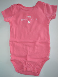 Carter's Pink Little Sweetheart Onesie