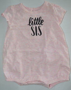 Gymboree Pink Little Sis Romper