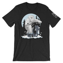 "Load image into Gallery viewer, ""Big Fat Yeti"" Fatbike T-Shirt - Bicycle T-Shirt - Teeezy.com"