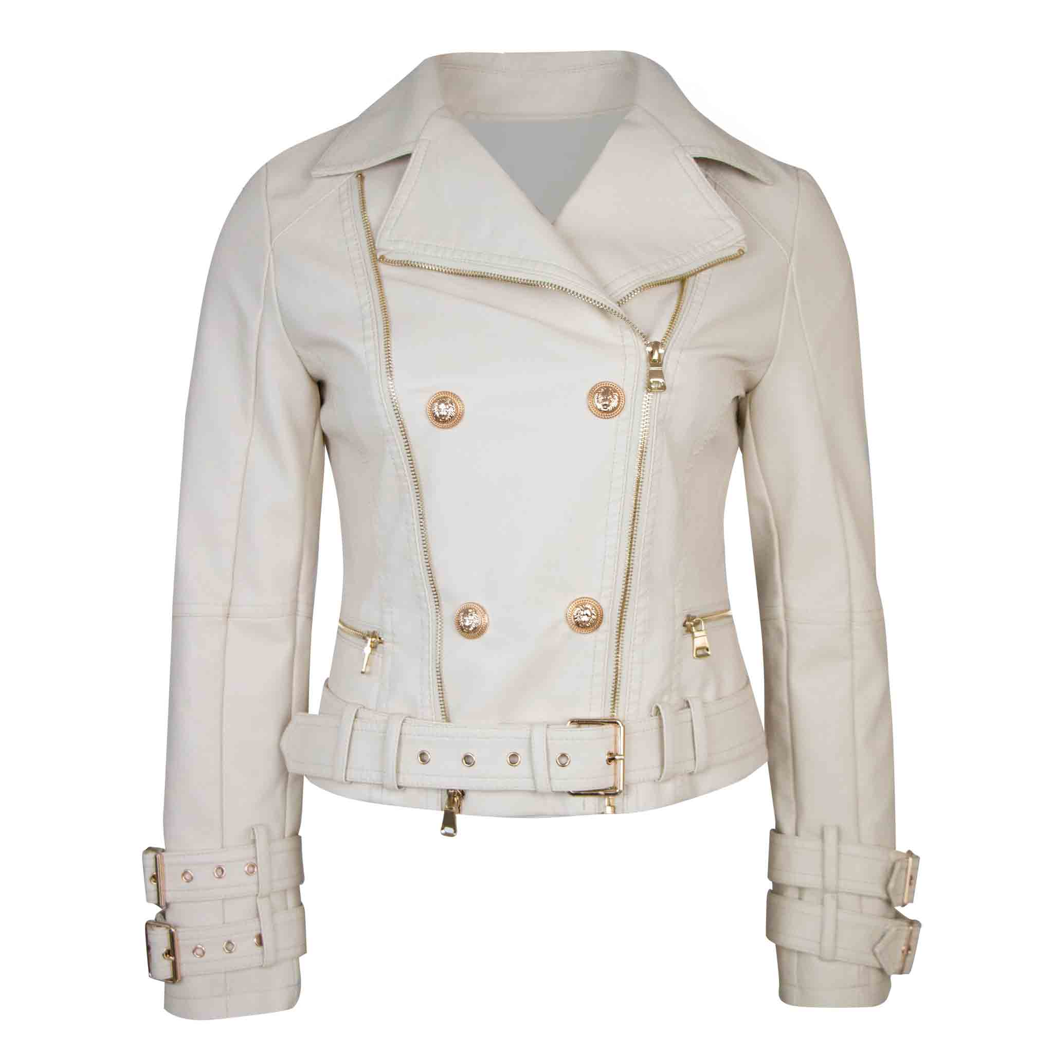 Golden button jacket
