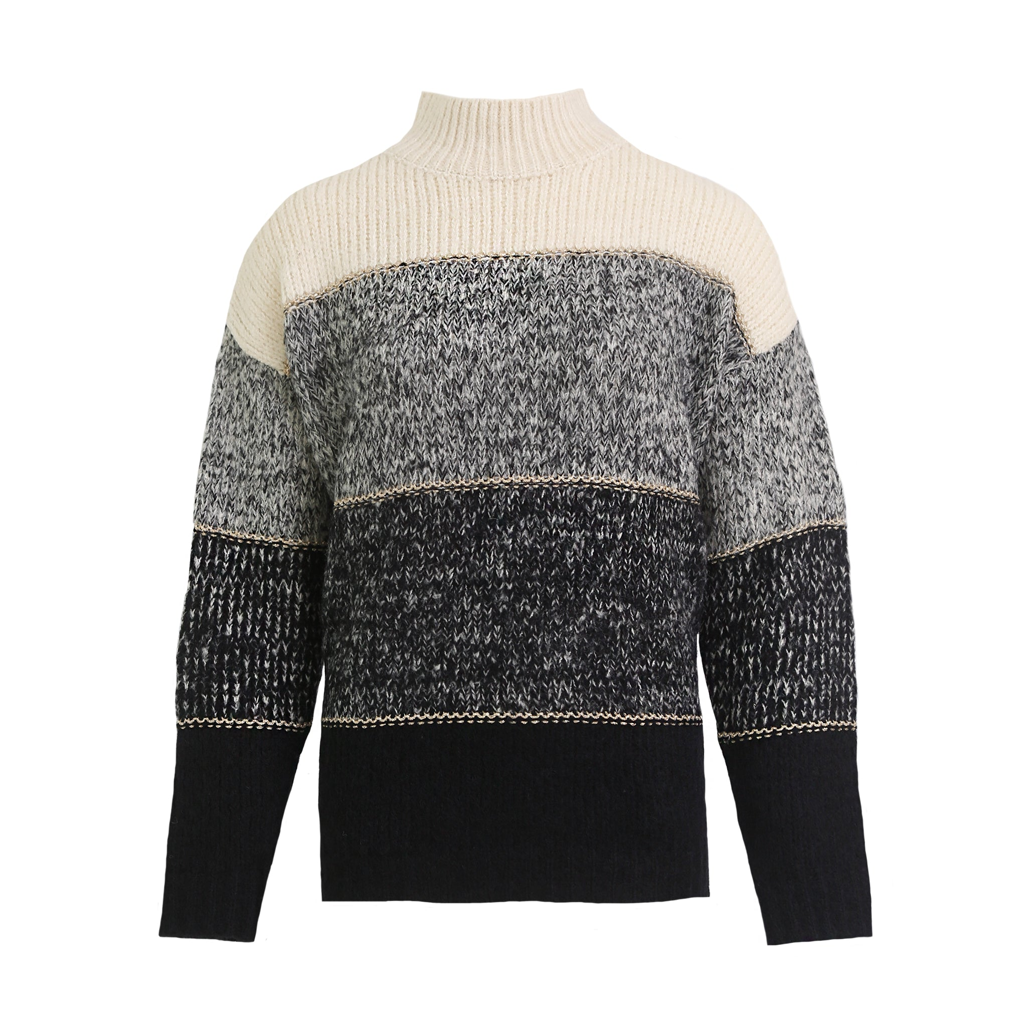 Streep col sweater