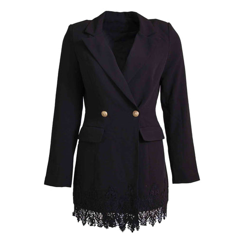 Blazer dress lace