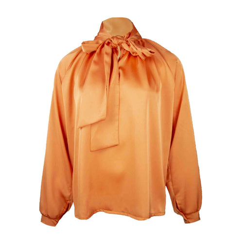 Silky strik blouse