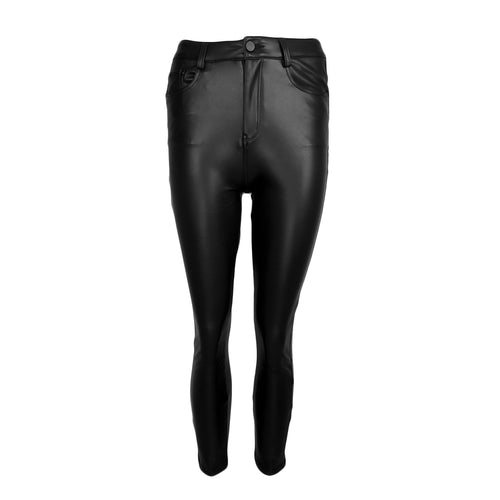 Leather Look Pant 5-Pocket
