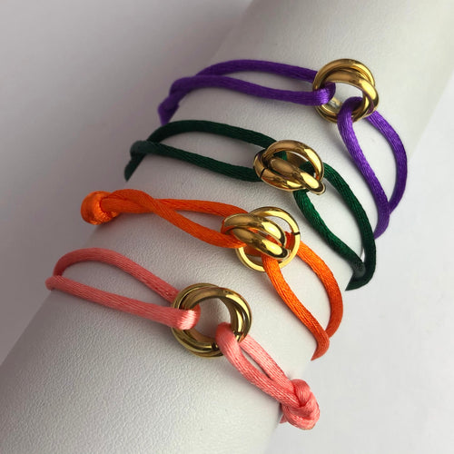 Lovely One Color Bracelet Gold
