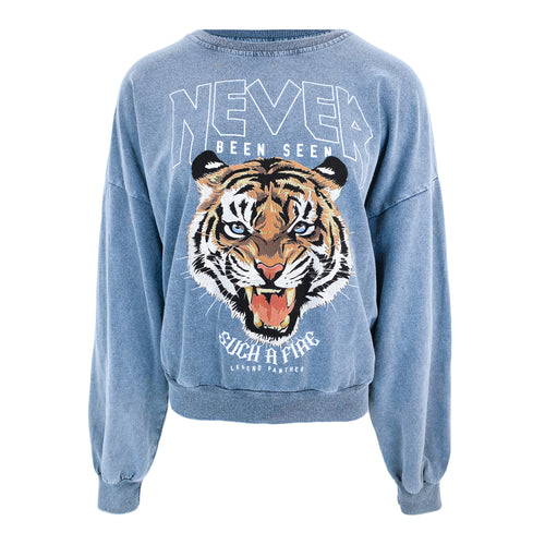 Never Been Seen Tiger Sweater