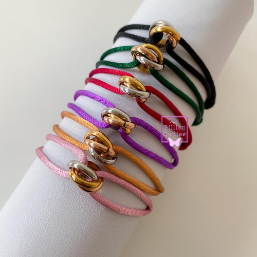 Lovely Three Color Bracelet