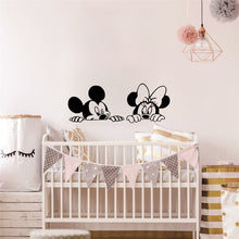Load image into Gallery viewer, Mickey and Minnie Mouse Wall Stickers
