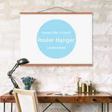Load image into Gallery viewer, Wooden magnetic poster frames modern Nordic style