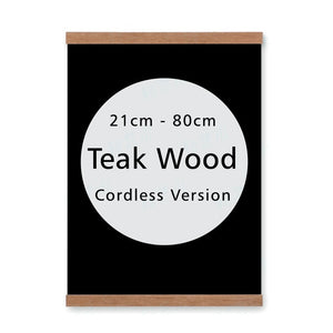 Wooden magnetic poster frames modern Nordic style