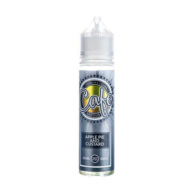 Apple Pie & Custard 50ml Shortfill by Cafe Vapour