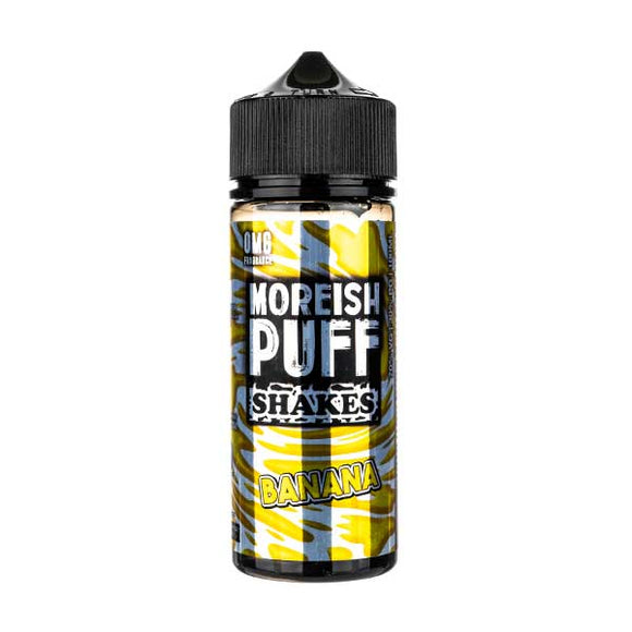 Banana Shakes Shortfill E-Liquid by Moreish Puff