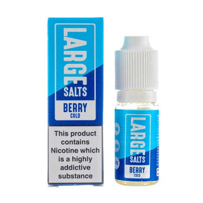 Berry Cold Nic Salt E-Liquid by Large Juices