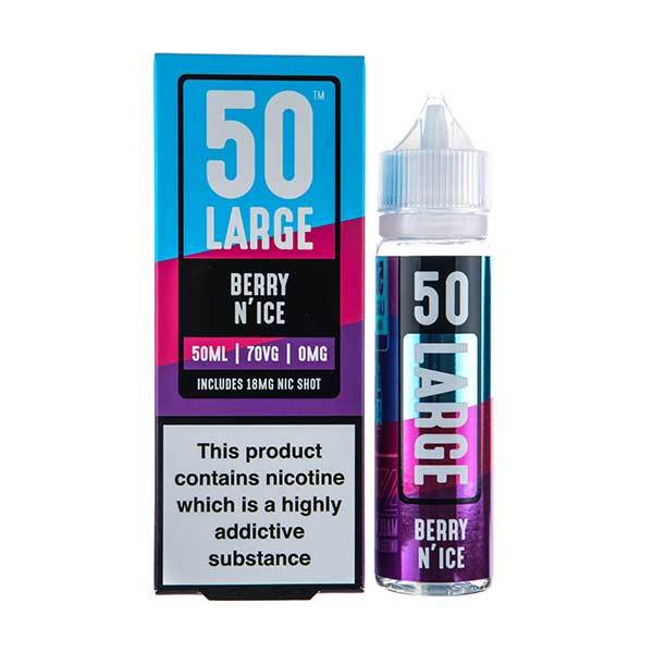 Berry N'ice Shortfill E-Liquid by 50 Large